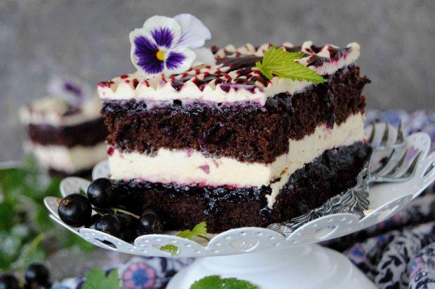 Ciasto porzeczkowo- chałwiowe