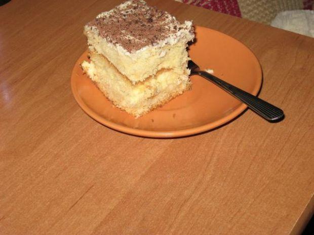 Ciasto przekładane.