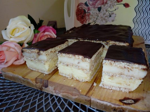 Ciasto serowo-grysikowe