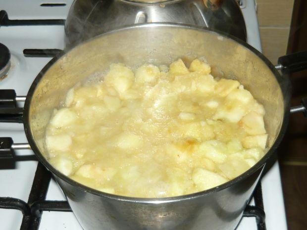 Ciasto serowo-jabłkowe bez pieczenia