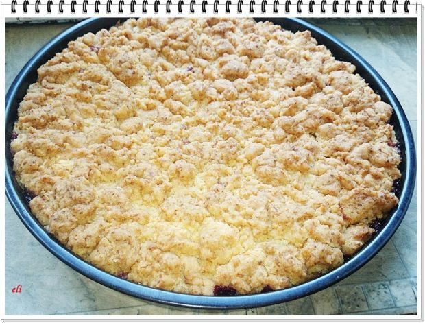 Ciasto śliwkowe Eli z kokosową kruszonką