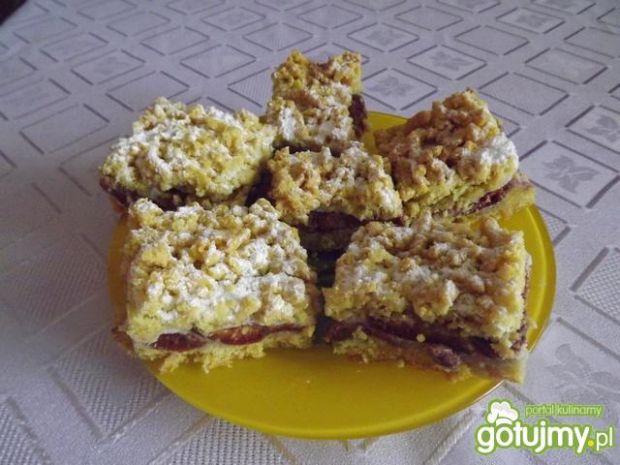 Ciasto śliwkowe z nutą cynamonu