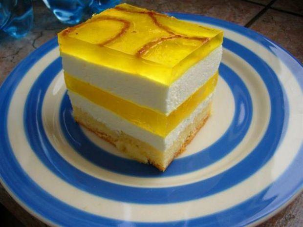 Ciasto słoneczko cytrynowe