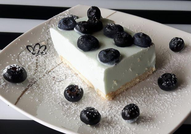 Ciasto Smerfowe