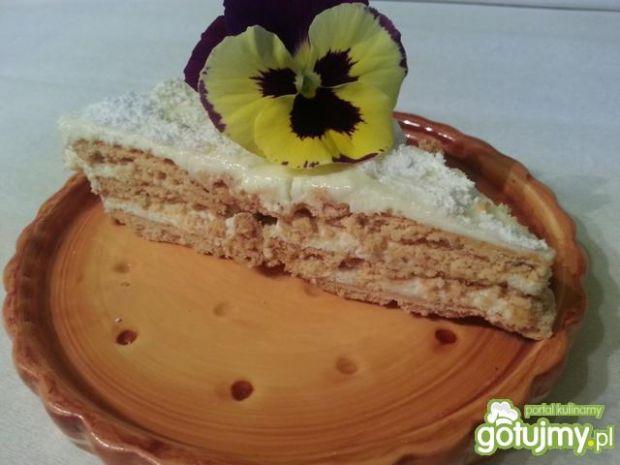 Ciasto śmietankowe bez pieczenia 2