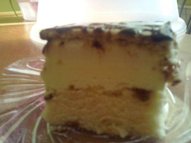 Ciasto śmietanowo -  cytrynowe