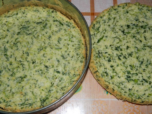 Ciasto szpinakowe z nasionami chia