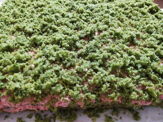 Ciasto szpinakowo-truskawkowe