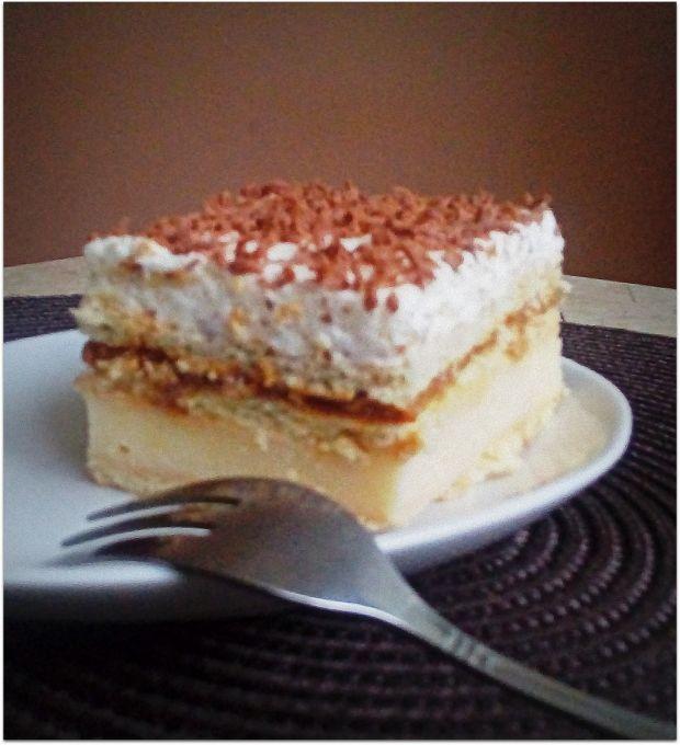 Ciasto Toffi bez pieczenia