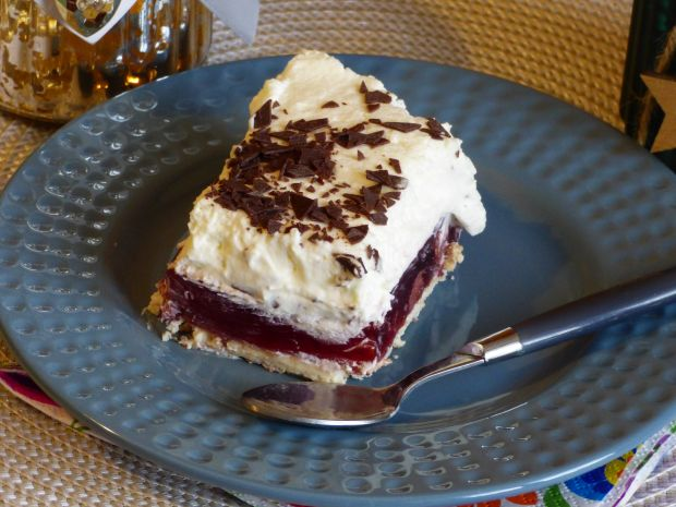 Ciasto Truskawkowa chmurka