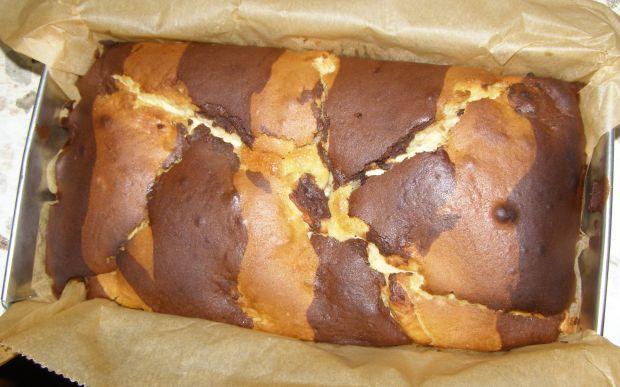 Ciasto ucierane z twarogiem