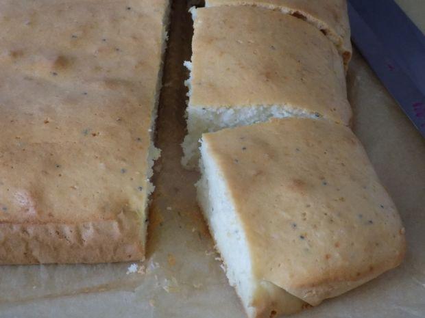 Ciasto z białek makowo-kokosowe