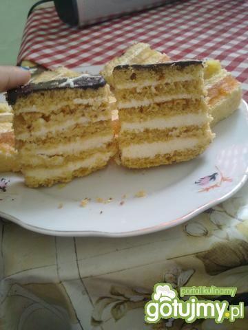 Ciasto z bitą śmietaną Michała