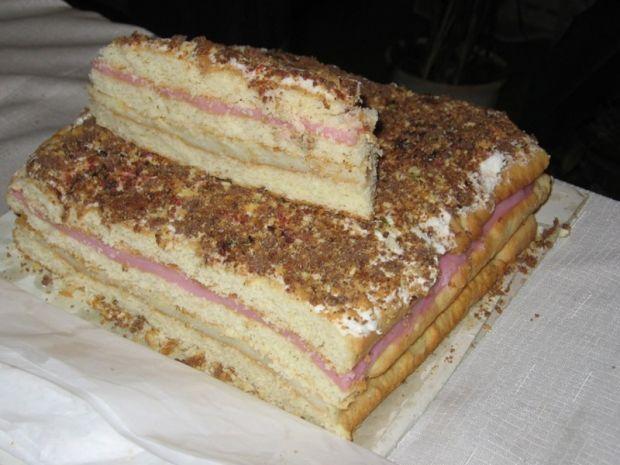 Ciasto z budyniem Babci Stefki