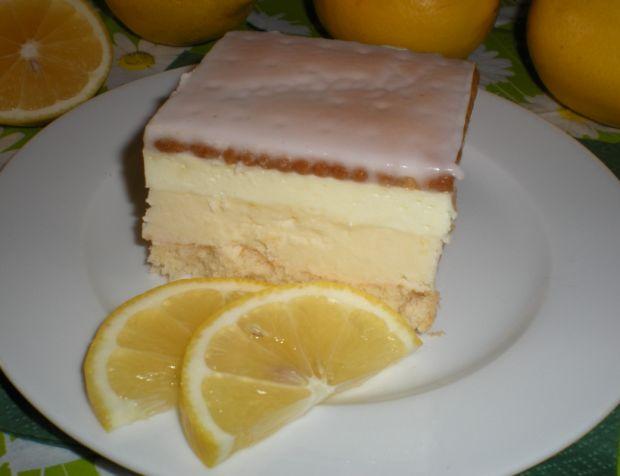 Ciasto z cytrynową pianką