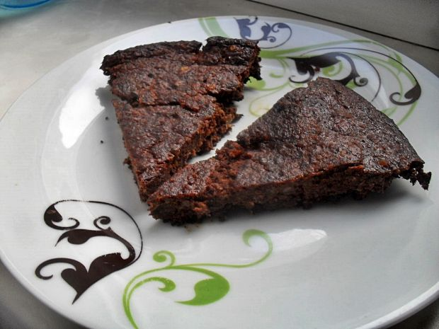 Ciasto z czarnej fasoli