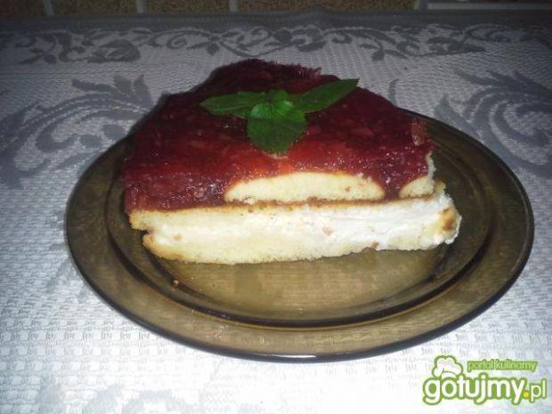 Ciasto z czereśniami 8
