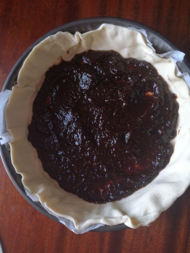 Ciasto z domowymi powidłami i mieszkanką studencką