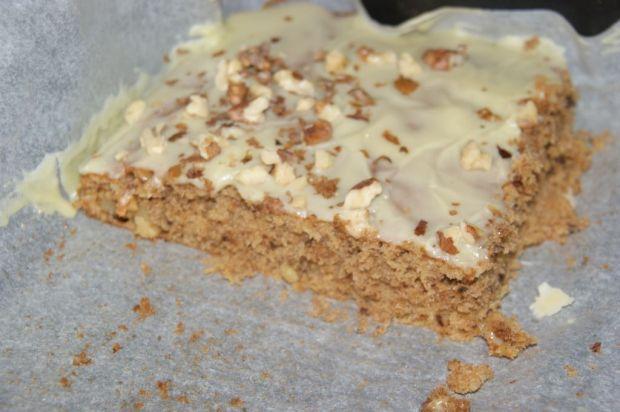 Ciasto z dyni z białą czekoladą