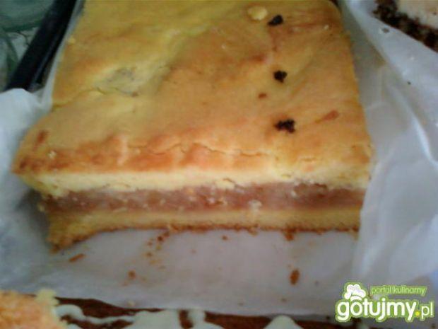 Ciasto z jabłkową niespodzianką