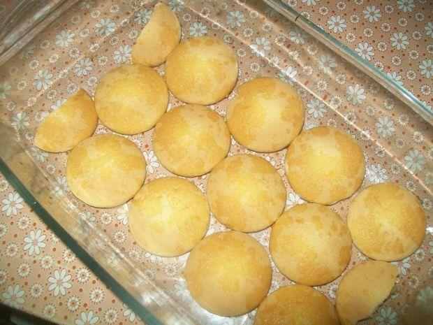 Ciasto z kaszy z truskawkami
