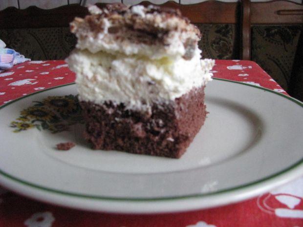 Ciasto z kremem prince polo