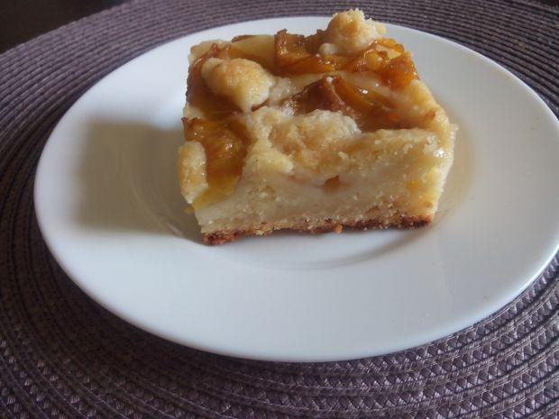 Ciasto z kruszonką z Białymi Śliwkami