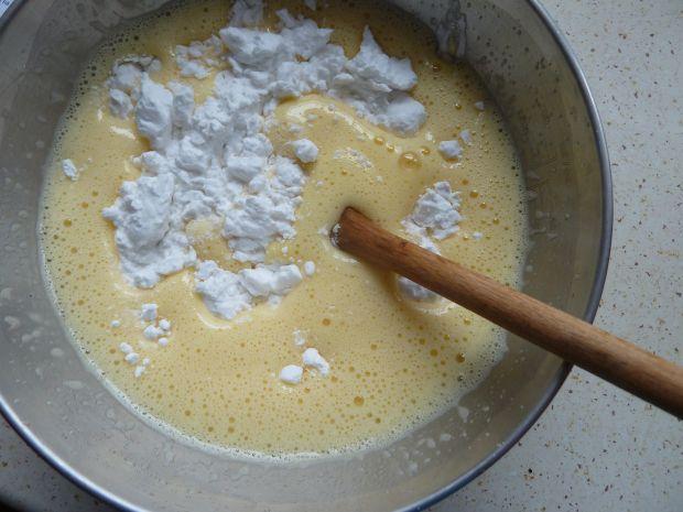 Ciasto z masą cytrynową i masą mascarpone