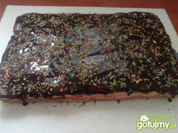 Ciasto z masą truskawkową wg Megg