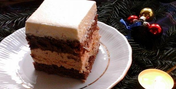 Ciasto z masą z batoników toffi