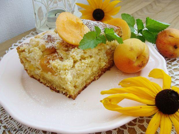 Ciasto z morelami i kruszonką