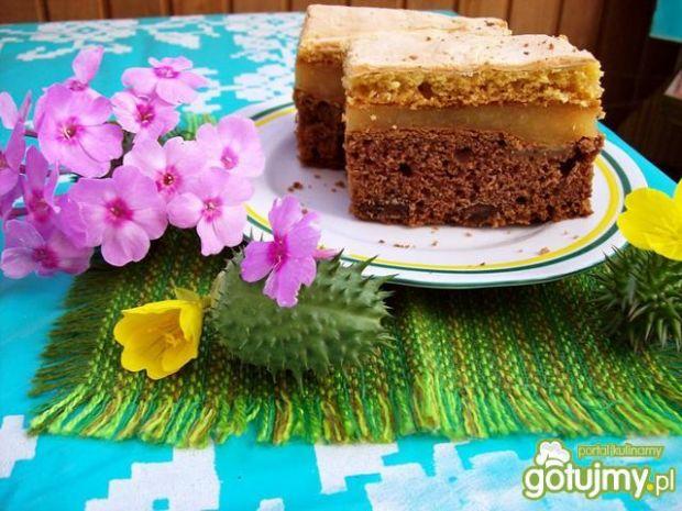 Ciasto z musem gruszkowym