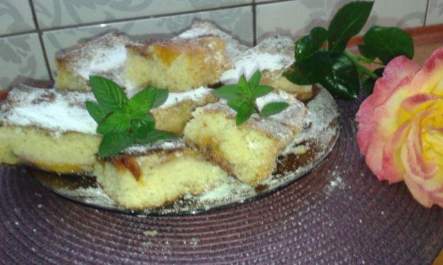 Ciasto z nektarynami