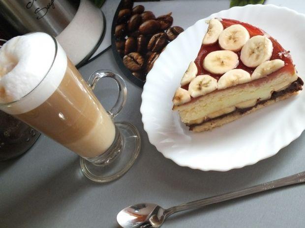 Ciasto z nutellą i bananami