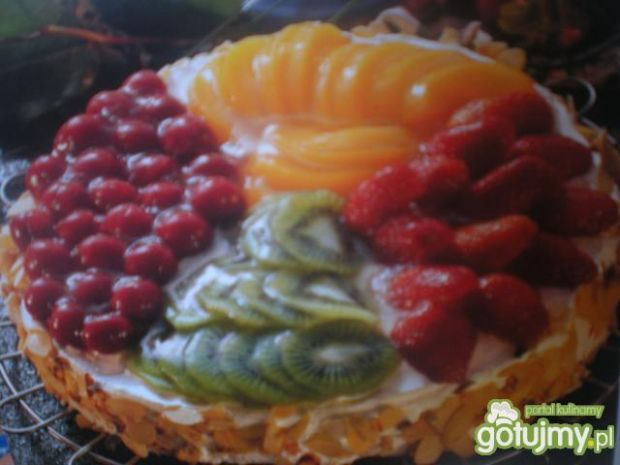 Ciasto z owocami lata