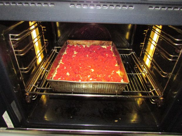 Ciasto z owocami na wagę jajek