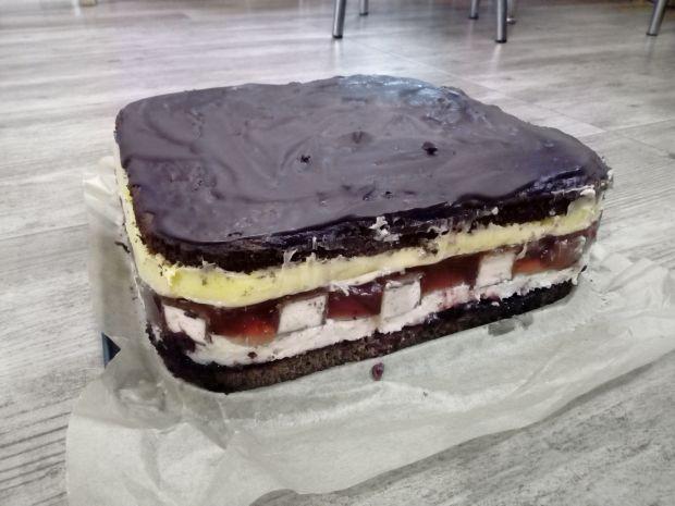 Ciasto z ptasim mleczkiem