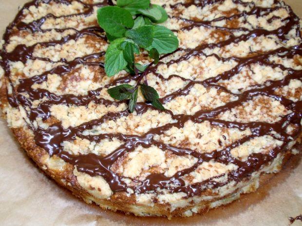 Ciasto z rabarbarem   I płatkami jaglanym