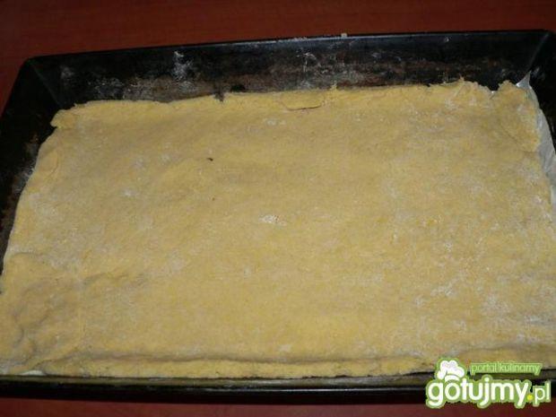 Ciasto z rabarbarem na kruchym spodzie