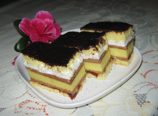 Ciasto z serową wkładką