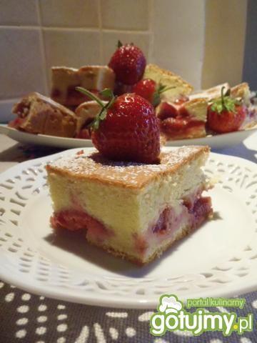 Ciasto z truskawkami 9