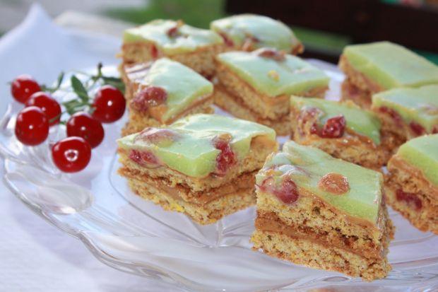 Ciasto z wiśniami na chrupko