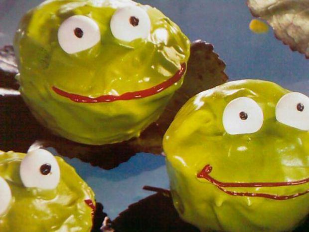 Ciasto zielone żabki