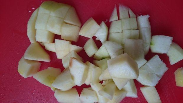 Ciasto żytnie z jabłkiem, gruszką i cynamonem