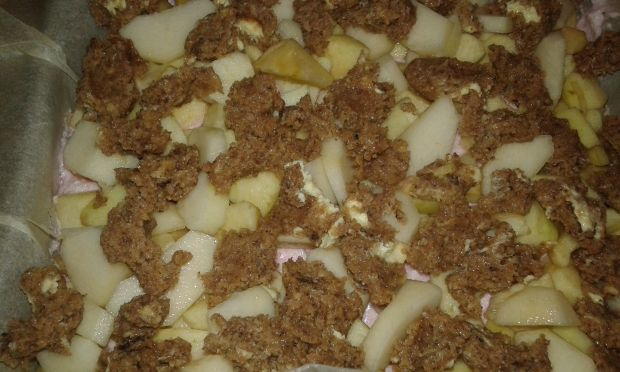 Ciemne kruche jabłkowo - gruszkowe