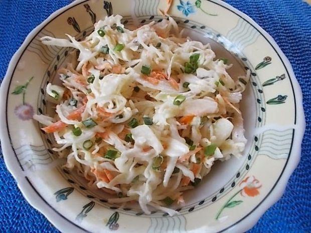 Colesław z marynowanym selerem