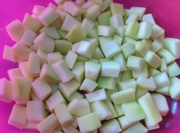 Cukinia a'la ananas