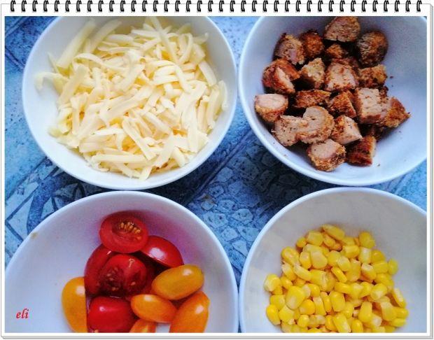 Cukinia Eli z mielonymi i kukurydzą