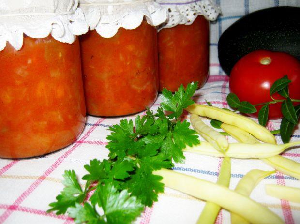 Cukinia na sos do słoika