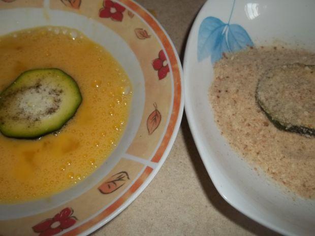 Cukinia w sosie serowym